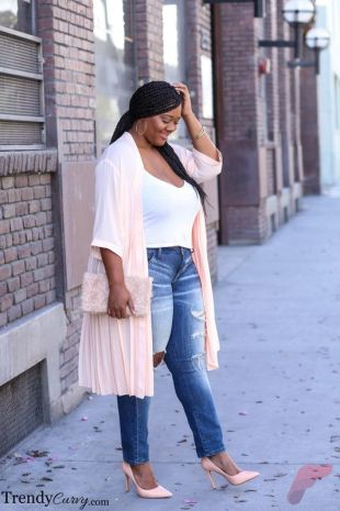 Layering outfits plus size sweaters 68