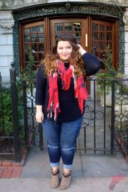 Layering outfits plus size sweaters 77
