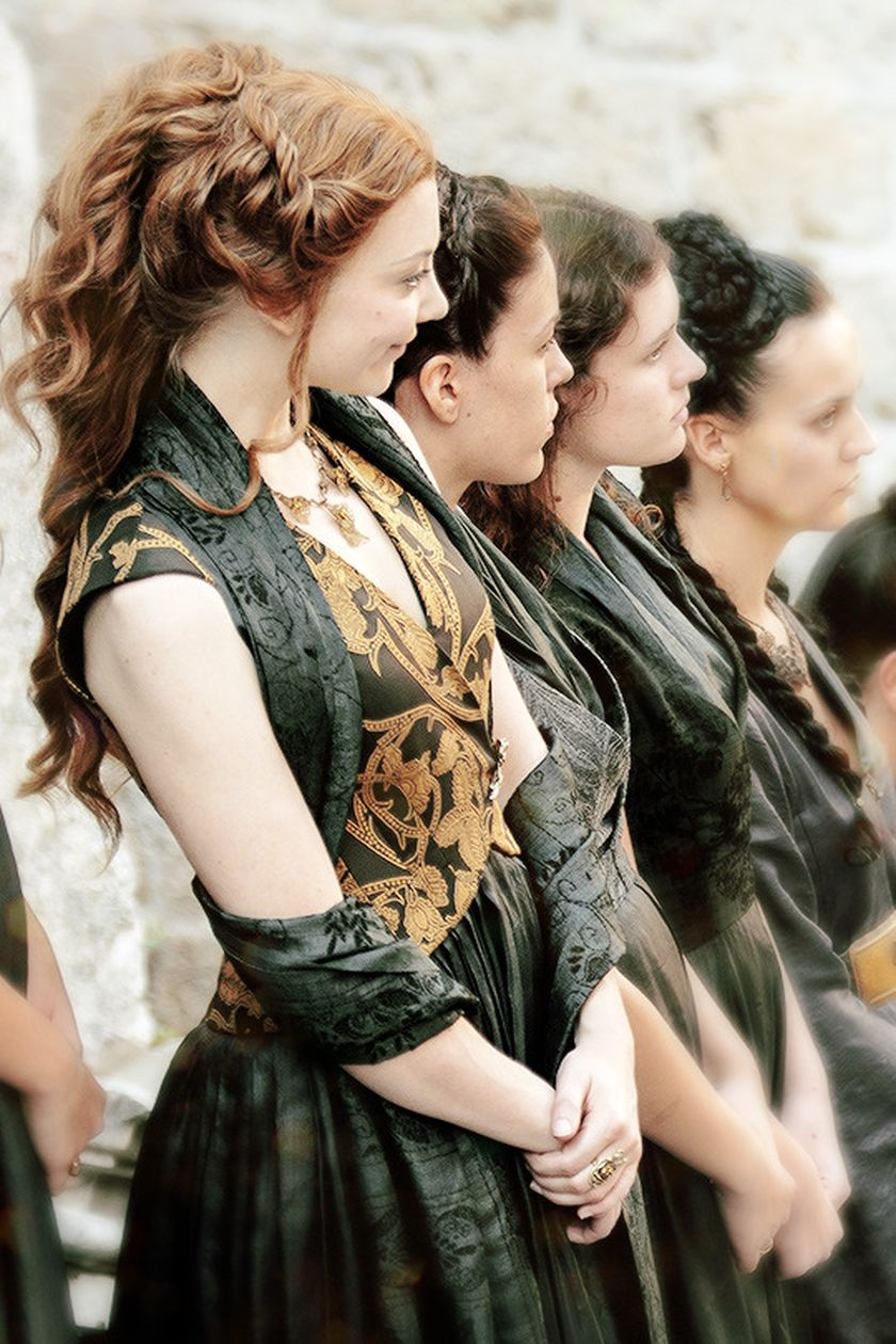 Margaery tyrell game of thrones dress costume 13