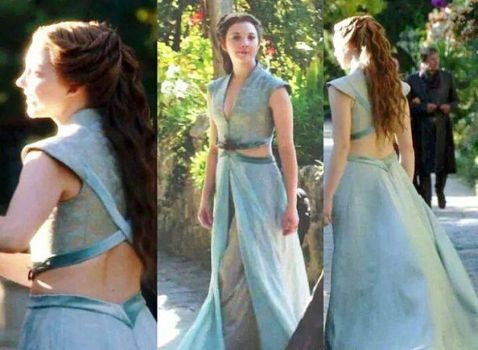 Margaery tyrell game of thrones dress costume 28