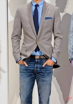 Men sport coat with jeans (1)
