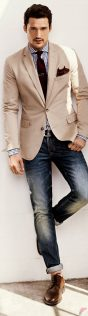 Men sport coat with jeans (129)