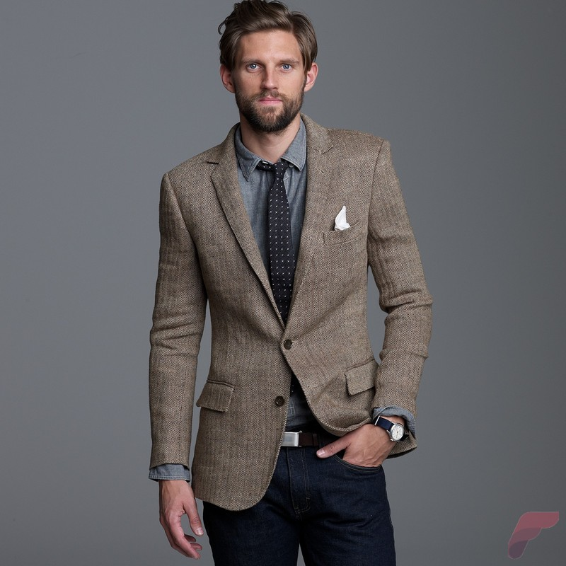 Men sport coat with jeans (14)