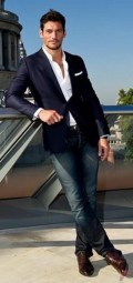 Men sport coat with jeans (142)
