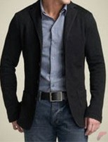 Men sport coat with jeans (153)