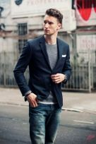 Men sport coat with jeans (156)