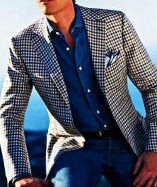 Men sport coat with jeans (169)