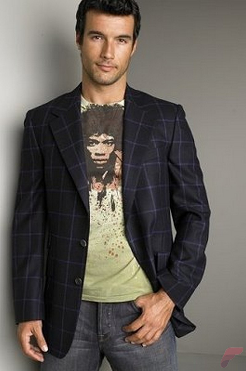 Men sport coat with jeans (19)