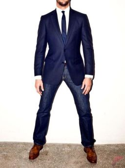 Men sport coat with jeans (2)