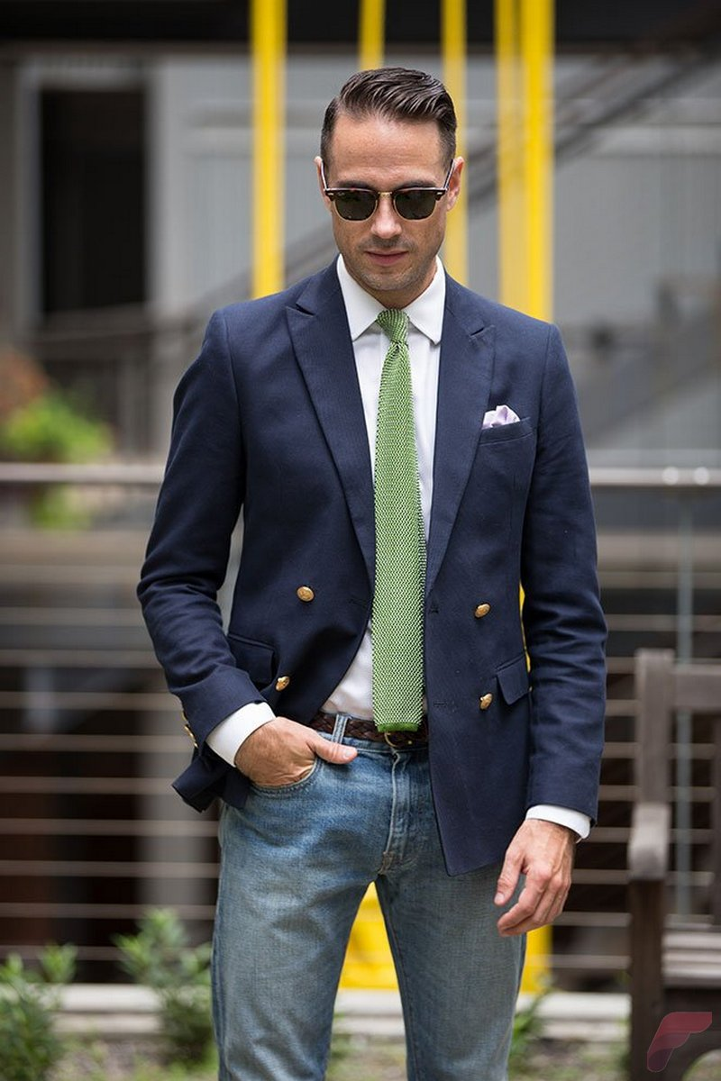 Men sport coat with jeans (31)