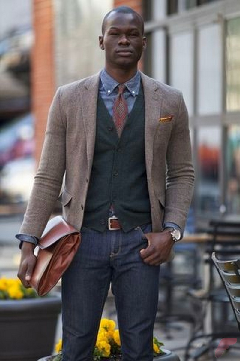 Men sport coat with jeans (4)