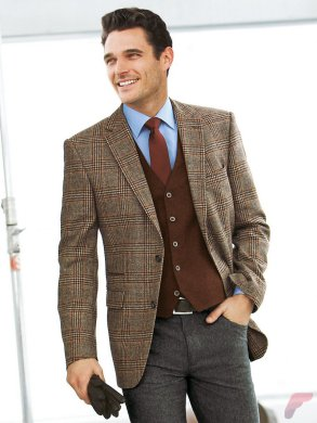 Men sport coat with jeans (47)