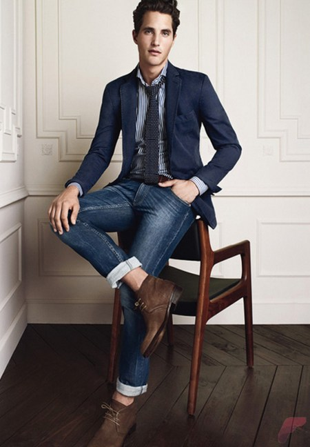 Men sport coat with jeans (57)