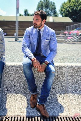 Men sport coat with jeans (89)