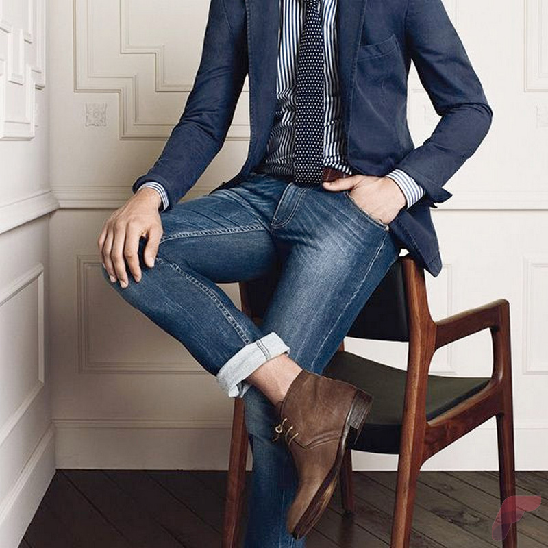 Men sport coat with jeans (9)
