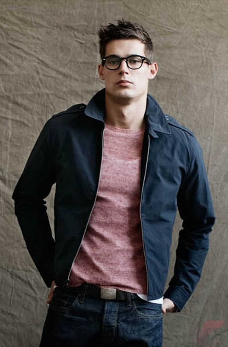Men spring casual jacket 78