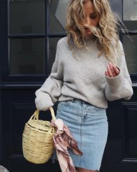 Simple casual french style outfits 1