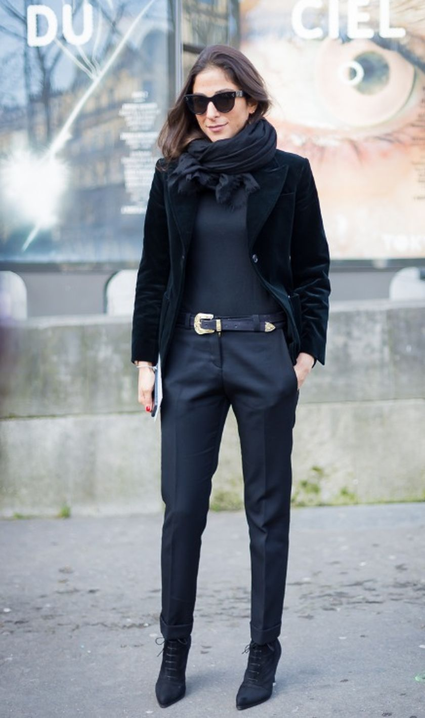 Simple casual french style outfits 32