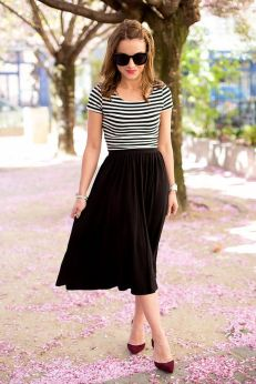 Simple casual french style outfits 72