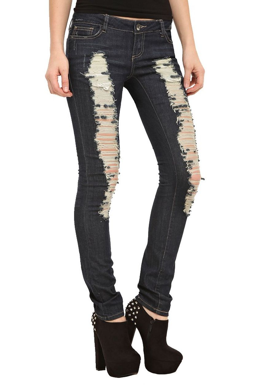 Skinny ripped jeans that will make you rock 26