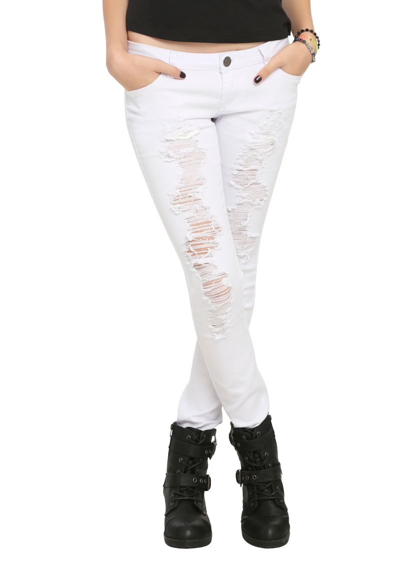 Skinny ripped jeans that will make you rock 54