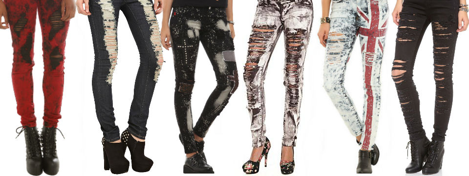 Skinny ripped jeans for women featured image fasbest