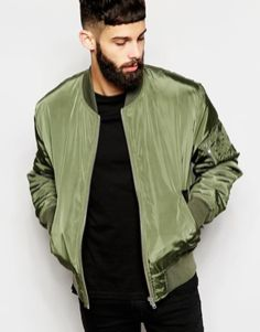 Top best model men bomber jacket outfit 21