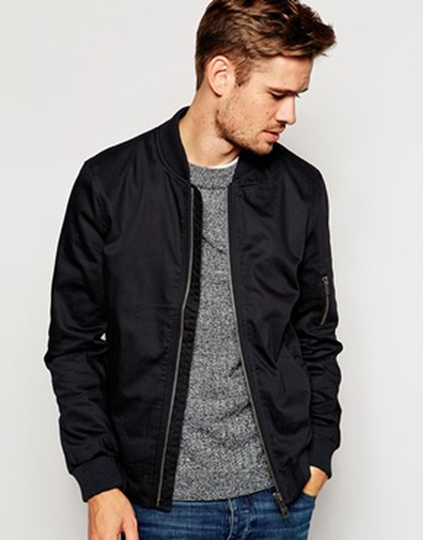 Top best model men bomber jacket outfit 22
