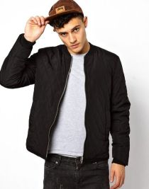 Top best model men bomber jacket outfit 36