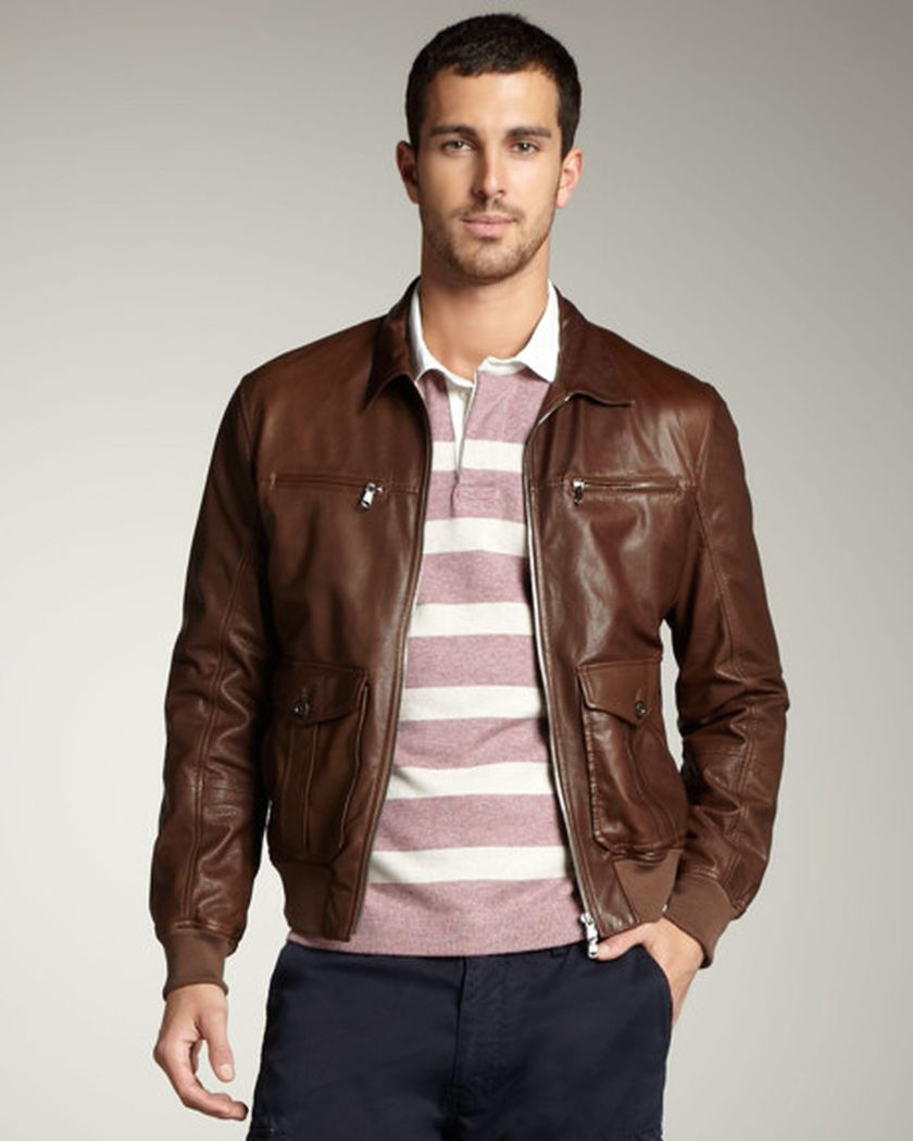 Top best model men bomber jacket outfit 38