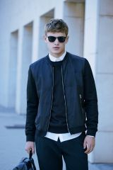 Top best model men bomber jacket outfit 39