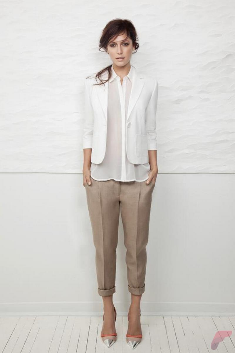 Women white shirt for work (232)