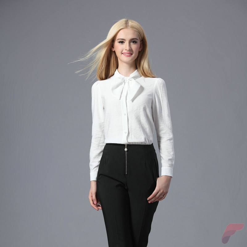 Women white shirt for work (247)