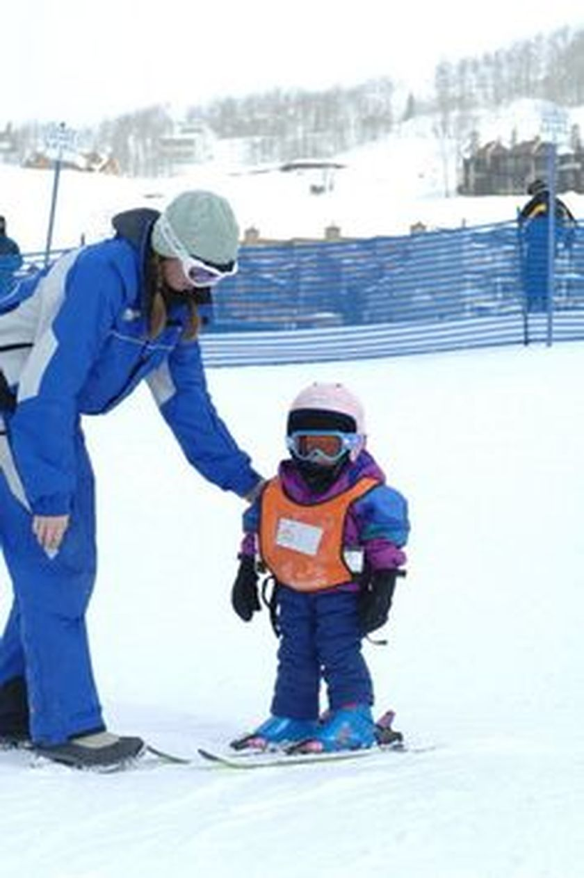 Adorable skiing outfit for your lovely kids 2