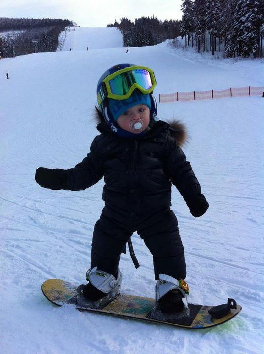 Adorable skiing outfit for your lovely kids 34