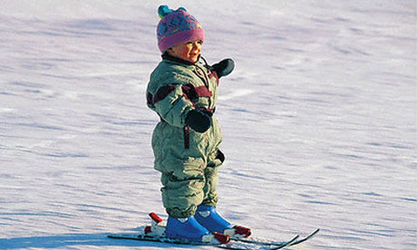 Adorable skiing outfit for your lovely kids 37