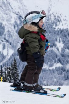 Adorable skiing outfit for your lovely kids 4