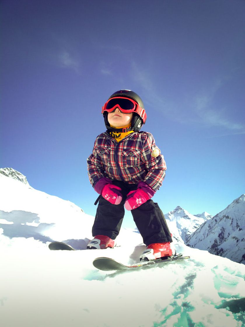 Adorable skiing outfit for your lovely kids 5