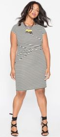 Amazing plus size striped dress outfits ideas 101