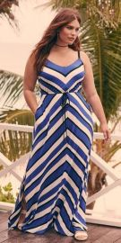 Amazing plus size striped dress outfits ideas 41