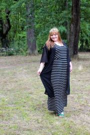 Amazing plus size striped dress outfits ideas 55