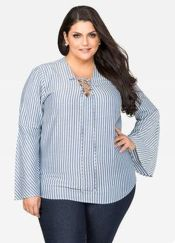 Amazing plus size striped dress outfits ideas 88