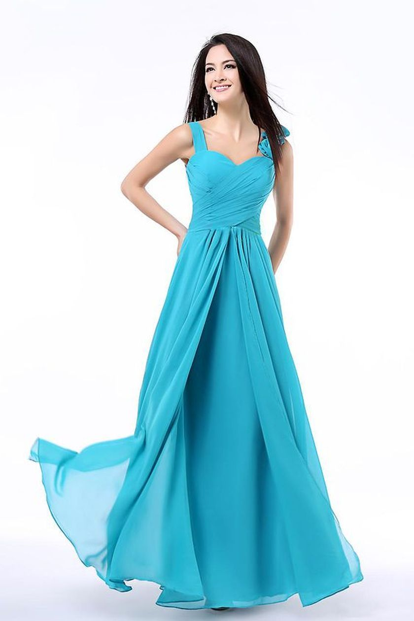Awesome elegance turquoise bridesmaid dress 19 1