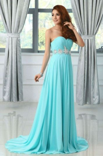 Awesome elegance turquoise bridesmaid dress 20
