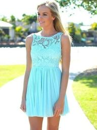 Awesome elegance turquoise bridesmaid dress 21