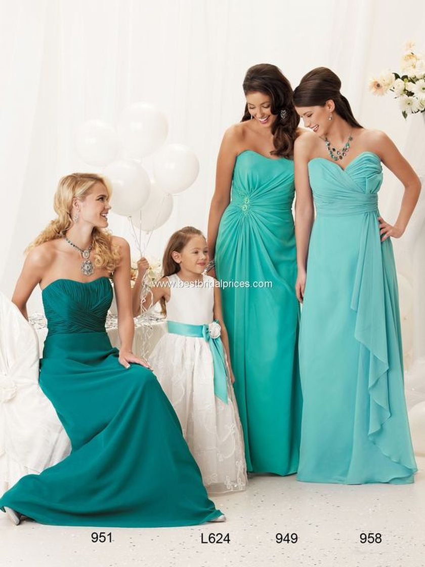 Awesome elegance turquoise bridesmaid dress 22 1