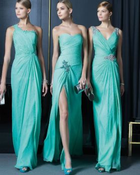 Awesome elegance turquoise bridesmaid dress 23