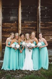 Awesome elegance turquoise bridesmaid dress 29