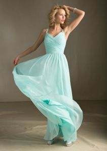 Awesome elegance turquoise bridesmaid dress 29 1
