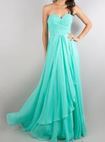 Awesome elegance turquoise bridesmaid dress 36